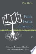 Faith  Form  and Fashion