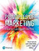 Principles of Marketing  Eighth European Edition Book