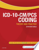"""""""ICD-10-CM/PCS Coding: Theory and Practice, 2019/2020 Edition E-Book"""" by Elsevier"""