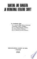 Ramayana and Ramakatha, an International Literature Survey