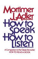Pdf How to Speak How to Listen