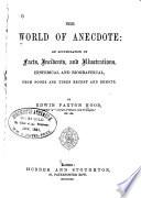 The World of Anecdote Book PDF