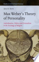 Max Weber   s Theory of Personality Book