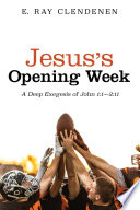 Jesus s Opening Week