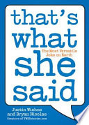 That s What She Said