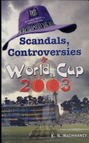 Scandals  Controversies   World Cup 2003