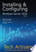 Windows Server 2016 Installing Configuring