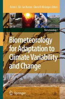 Pdf Biometeorology for Adaptation to Climate Variability and Change Telecharger