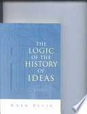The Logic of the History of Ideas Book