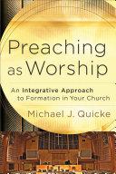Pdf Preaching as Worship Telecharger