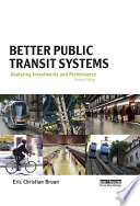 Better Public Transit Systems Book PDF