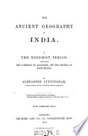 The Ancient Geography of India