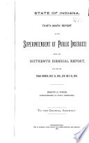 Annual Report of the Department of Public Instruction of the State of Indiana Book PDF