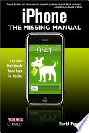 """iPhone: The Missing Manual: The Missing Manual"" by David Pogue"