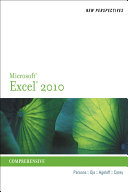 New Perspectives on Microsoft Excel 2010  Comprehensive