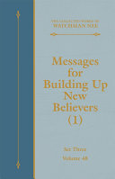 Messages for Building Up New Believers (1) [Pdf/ePub] eBook