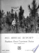 Annual Report Southern Forest Experiment Station