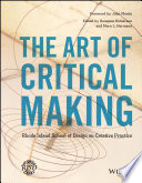 The Art Of Critical Making Book PDF