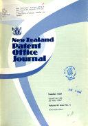 New Zealand Patent Office Journal