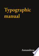 Typographic manual