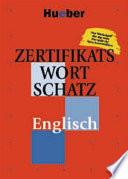 Zertifikatswortschatz Englisch