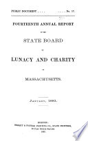 First   seventh  Annual Report of the State Board of Health  Lunacy and Charity  1879 1885