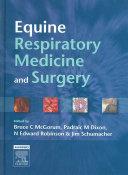 Equine Respiratory Medicine and Surgery Book