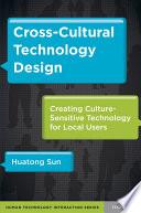 Cross-Cultural Technology Design