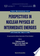 Perspectives In Nuclear Physics At Intermediate Energy - Proceedings Of The 6th Workshop