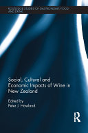 Social  Cultural and Economic Impacts of Wine in New Zealand