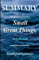 Small Great Things Summary By Jodi Picoult