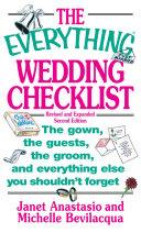 The Everything Wedding Checklist [Pdf/ePub] eBook