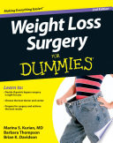 Weight Loss Surgery For Dummies Book