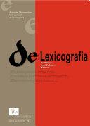 De Lexicografia