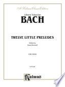Twelve Little Preludes PDF