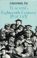 Teaching Eighteenth-century Poetry