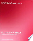 Actionscript 3 0 For Adobe Flash Cs4 Professional Classroom In A Book