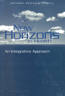 New Horizons in Health: