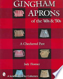 Gingham Aprons of the '40s & '50s