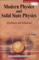 Modern physics and solid state physics problems and solutions other editions view all fandeluxe Images