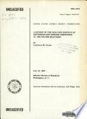 A Review of the Reaction Kinetics of Deuterium and Tritium Compounds