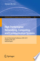 High Performance Networking  Computing  and Communication Systems Book