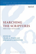 Searching the Scriptures Book
