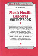 Men s Health Concerns Sourcebook