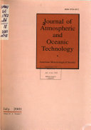 Journal Of Atmospheric And Oceanic Technology Book PDF