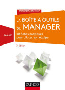 La Boîte à outils du manager - 3e éd.