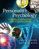 Personality Psychology  Domains of Knowledge About Human Nature Book