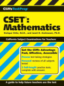 CliffsTestPrep CSET, Mathematics PDF