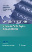 Company Taxation in the Asia Pacific Region  India  and Russia