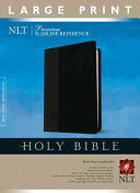 Premium Slimline Reference Bible NLT Large Print